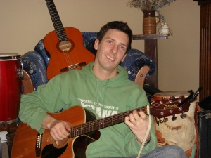 Kyle Dine writing children's music