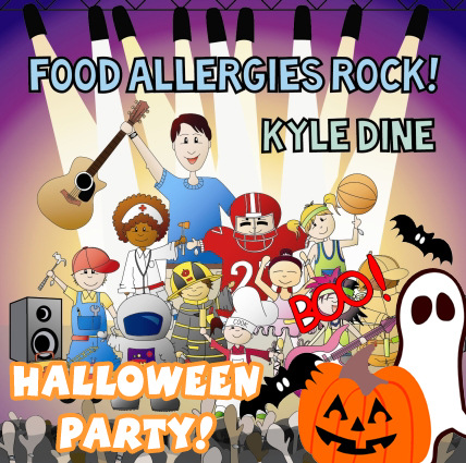 Food Allergies Rock Halloween Party
