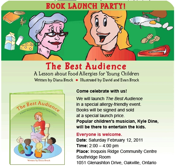 The Best Audience Book Release Party