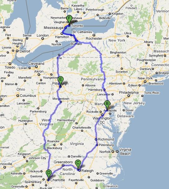 Kyle Dine Road Trip June 2011