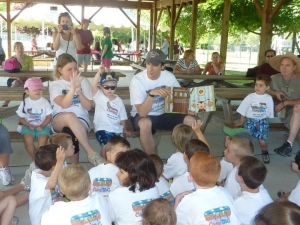Kyle Dine reading at FAAN's Camp TAG