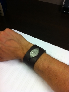 Kyle Dine's MedicAlert Bracelet