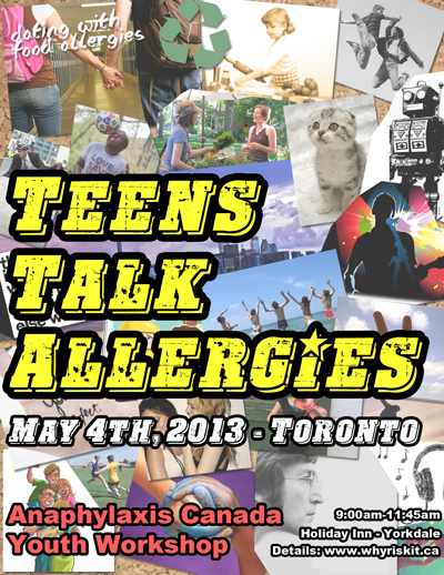 Anaphylaxis Canada Teen Session