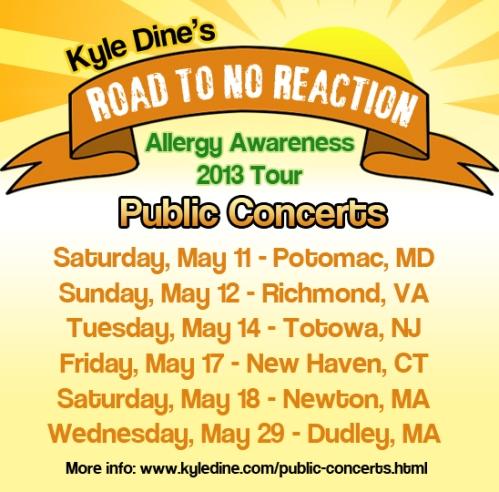 Kyle Dine Public-Concerts