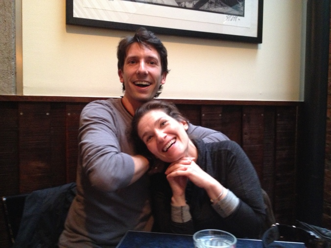 Goofing around with my friend Sloane Miller in NYC.  Check out her awesome blog at www.allergicgirl.com