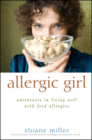 Sloane Miller's book. A great resource for anyone affected by food allergies. http://allergicgirl.com/allergic-girl-adventures-in-living-well-with-food-allergies/
