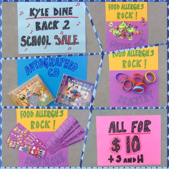 Kyle Dine's Back 2 School Sale