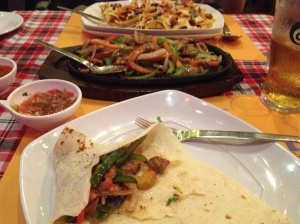Fajitas in China!