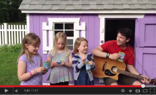 Having fun recording this catchy jingle for Surf Sweets. Check it out at http://youtu.be/Zmm3F_G7ekY