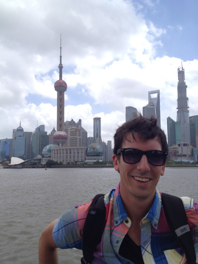 Kyle in Shanghai not letting allergies limit his adventure