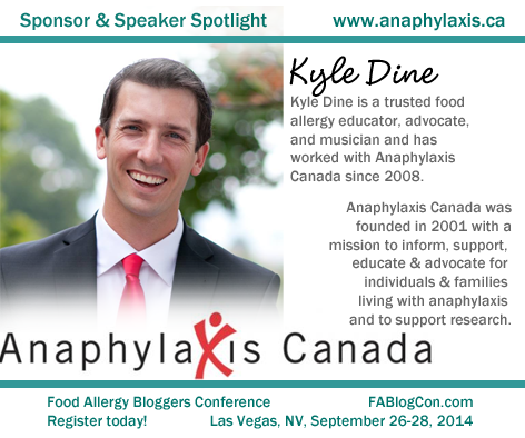 Kyle Dine Anaphylaxis Canada