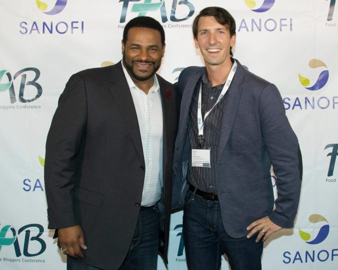Getting to meet Jerome Bettis was an absolute thrill! He was my childhood idol - I'm a huge Steelers fan!