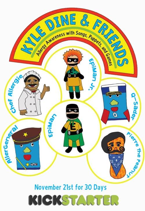 Kyle-Dine-and-Friends-Puppet-Cast-Kickstarter