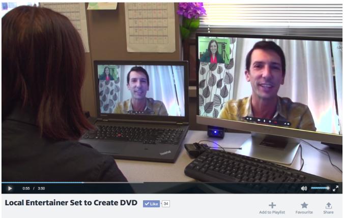 Kyle Dine Speaking About Allergy DVD Kickstarter