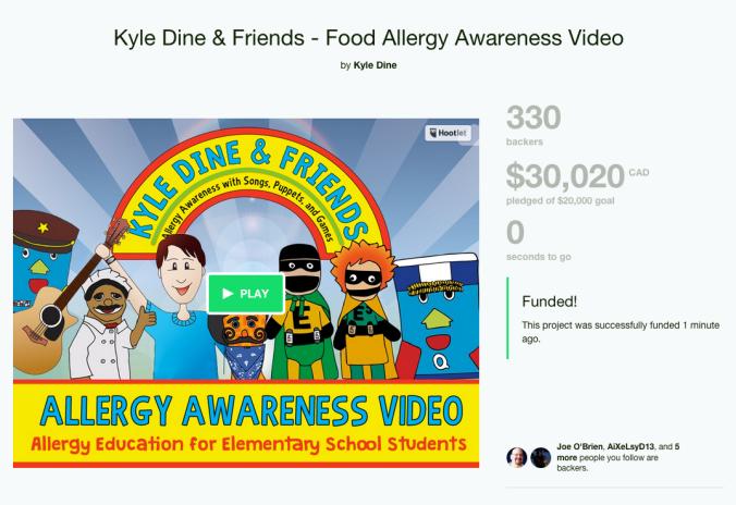 Kyle Dine Kickstarter