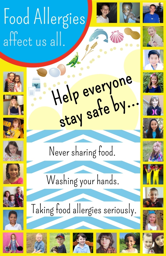 1. Allergy Awareness Poster - Kyle Dine
