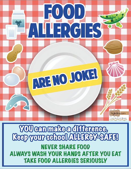2. Allergy Awareness Poster - Kyle Dine