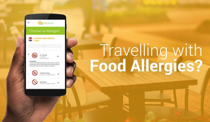 Free food allergy translation card app