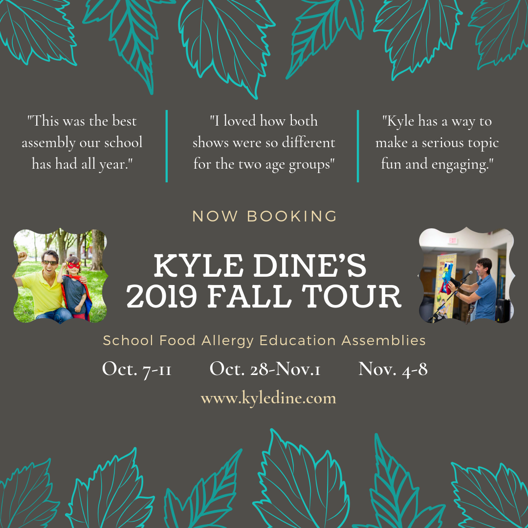 Kyle Dine Allergy Education Assemblies For Schools