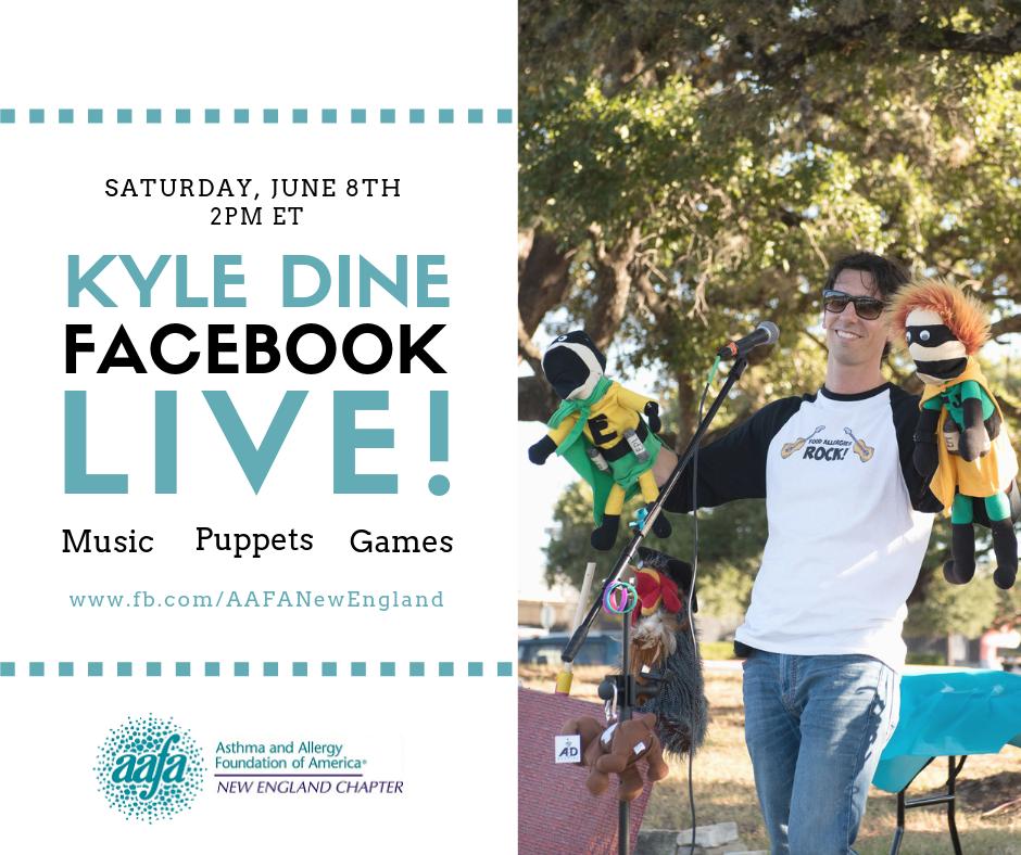 Kyle Dine Facebook Live